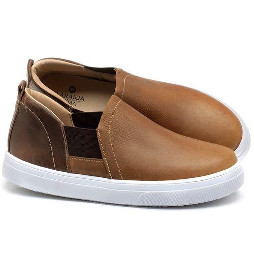 Laranja_Lima_Shoes_Sapatos_Femininos_Tenis_Cano_Baixo_em_Couro_Caramelo_-_Codigo_-_9447_1