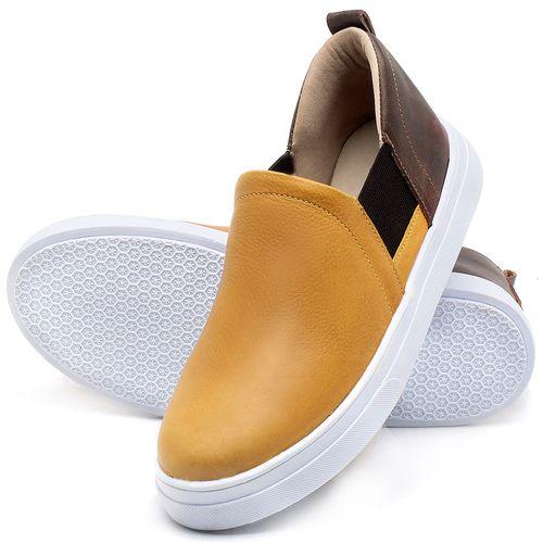 Laranja_Lima_Shoes_Sapatos_Femininos_Tenis_Cano_Baixo_em_Couro_Amarelo_-_Codigo_-_9447_2