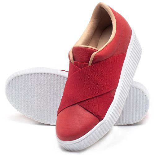 Laranja_Lima_Shoes_Sapatos_Femininos_Tenis_Cano_Baixo_em_Couro_Vermelho_-_Codigo_-_9448_2