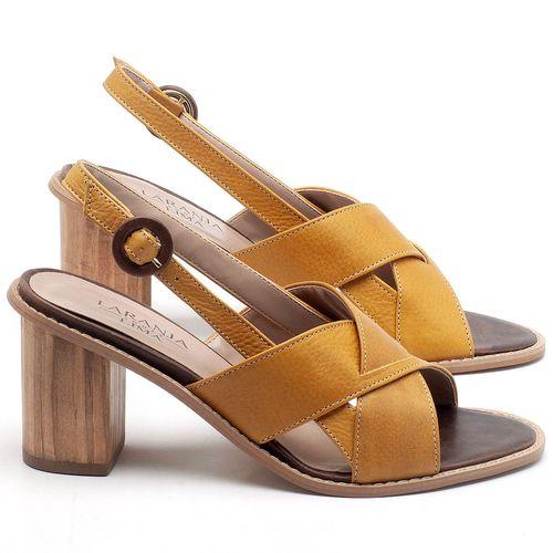 Laranja_Lima_Shoes_Sapatos_Femininos_Sandalia_Laranja_Lima_Shoes_Classic_Salto_de_6_cm_em_Couro_Amarelo_-_Codigo_-_9455_1