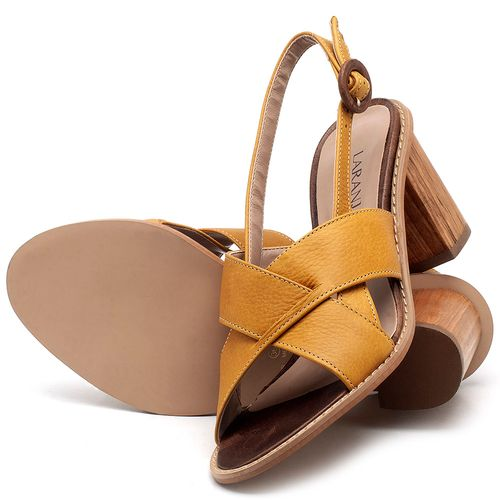 Laranja_Lima_Shoes_Sapatos_Femininos_Sandalia_Laranja_Lima_Shoes_Classic_Salto_de_6_cm_em_Couro_Amarelo_-_Codigo_-_9455_2