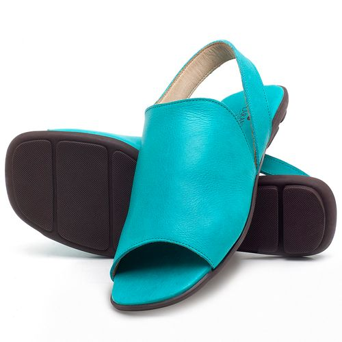 Laranja_Lima_Shoes_Sapatos_Femininos_Sandalia_Rasteira_Flat_em_Couro_Azul_-_Codigo_-_9459_2