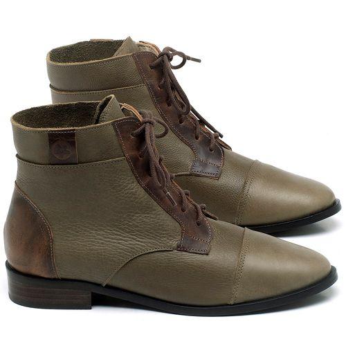 Laranja_Lima_Shoes_Sapatos_Femininos_Bota_Cano_Curto_Salto_de_2_cm_em_Couro_Verde_-_Codigo_-_9460_1
