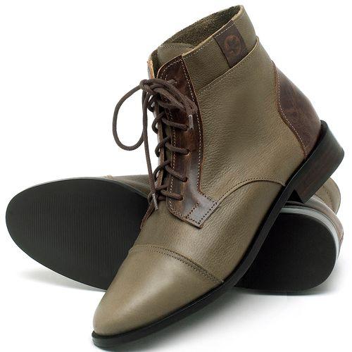 Laranja_Lima_Shoes_Sapatos_Femininos_Bota_Cano_Curto_Salto_de_2_cm_em_Couro_Verde_-_Codigo_-_9460_2