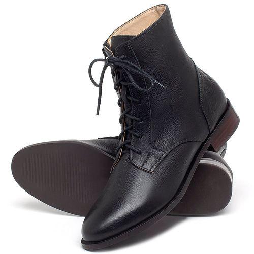 Laranja_Lima_Shoes_Sapatos_Femininos_Bota_Cano_Curto_Salto_de_2_cm_em_Couro_Preto_-_Codigo_-_9461_2