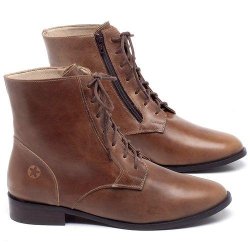 Laranja_Lima_Shoes_Sapatos_Femininos_Bota_Cano_Curto_Salto_de_2_cm_em_Couro_Marrom_-_Codigo_-_9461_1