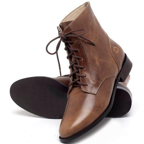 Laranja_Lima_Shoes_Sapatos_Femininos_Bota_Cano_Curto_Salto_de_2_cm_em_Couro_Marrom_-_Codigo_-_9461_2
