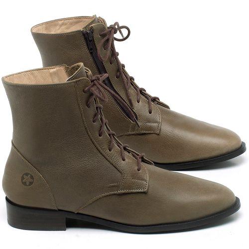 Laranja_Lima_Shoes_Sapatos_Femininos_Bota_Cano_Curto_Salto_de_2_cm_em_Couro_Verde_-_Codigo_-_9461_1