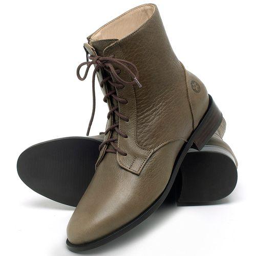 Laranja_Lima_Shoes_Sapatos_Femininos_Bota_Cano_Curto_Salto_de_2_cm_em_Couro_Verde_-_Codigo_-_9461_2