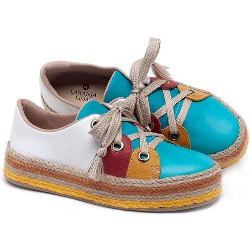 Laranja_Lima_Shoes_Sapatos_Femininos_Tenis_Cano_Baixo_em_Couro_Colorido_-_Codigo_-_9462_1