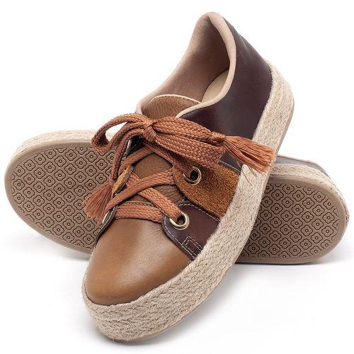 Laranja_Lima_Shoes_Sapatos_Femininos_Tenis_Cano_Baixo_em_Couro_Caramelo_-_Codigo_-_9462_2