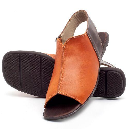 Laranja_Lima_Shoes_Sapatos_Femininos_Sandalia_Rasteira_Flat_em_Couro_Laranja_-_Codigo_-_9465_2