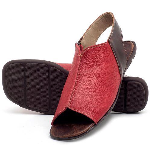Laranja_Lima_Shoes_Sapatos_Femininos_Sandalia_Rasteira_Flat_em_Couro_Vermelho_-_Codigo_-_9465_2