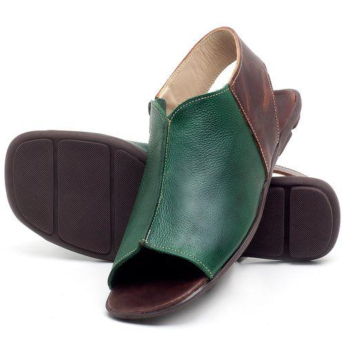 Laranja_Lima_Shoes_Sapatos_Femininos_Sandalia_Rasteira_Flat_em_Couro_Verde_-_Codigo_-_9465_2