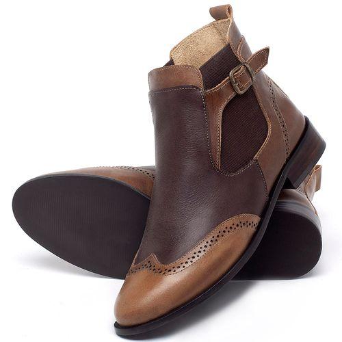 Laranja_Lima_Shoes_Sapatos_Femininos_Bota_Cano_Curto_Salto_de_2_cm_em_Couro_Marrom_-_Codigo_-_9466_2