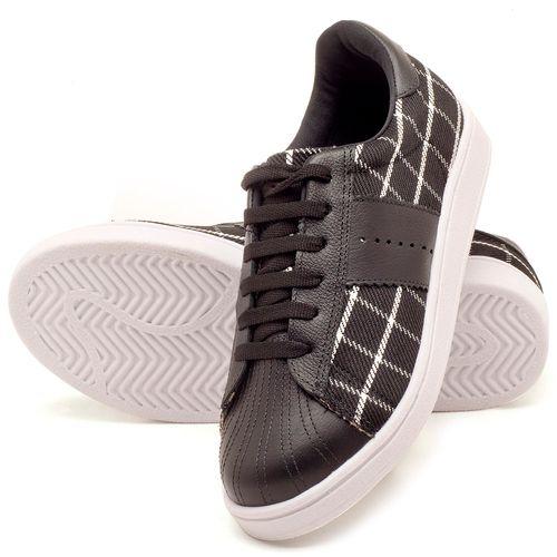Laranja_Lima_Shoes_Sapatos_Femininos_Tenis_Cano_Baixo_em_Couro_Preto_-_Codigo_-_99085_2