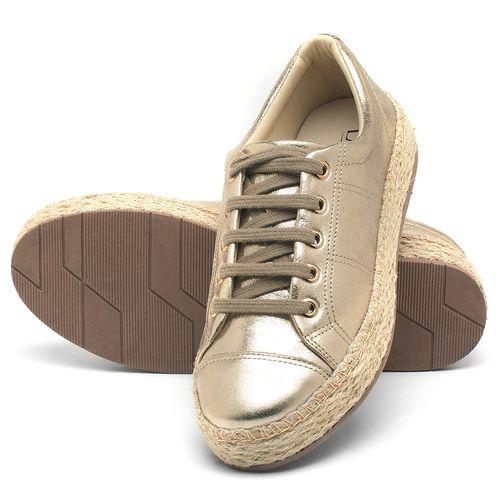 Laranja_Lima_Shoes_Sapatos_Femininos_Tenis_Cano_Baixo_em_Couro_Metalizado_-_Codigo_-_99091_2