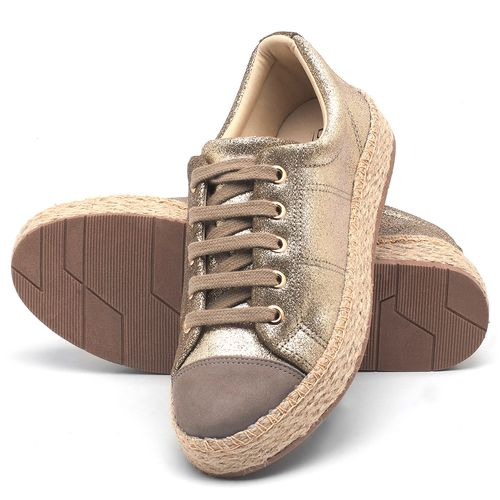 Laranja_Lima_Shoes_Sapatos_Femininos_Tenis_Cano_Baixo_em_Couro_Metalizado_-_Codigo_-_99092_2