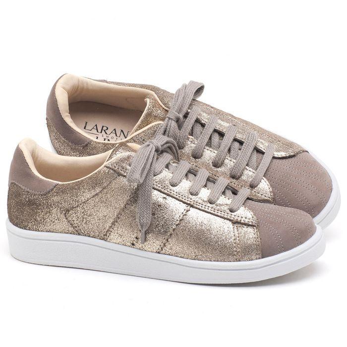 Laranja_Lima_Shoes_Sapatos_Femininos_Tenis_Cano_Baixo_em_Couro_Metalizado_-_Codigo_-_99093_1
