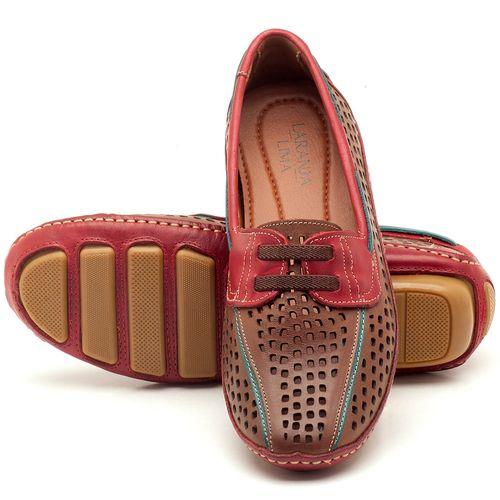 Laranja_Lima_Shoes_Sapatos_Femininos_Dockside_Laranja_Lima_Shoes_em_Couro_Vermelho_-_Codigo_-_136028_2