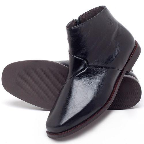 Laranja_Lima_Shoes_Sapatos_Femininos_Bota_Cano_Curto_em_Couro_Preto_-_Codigo_-_136093_2