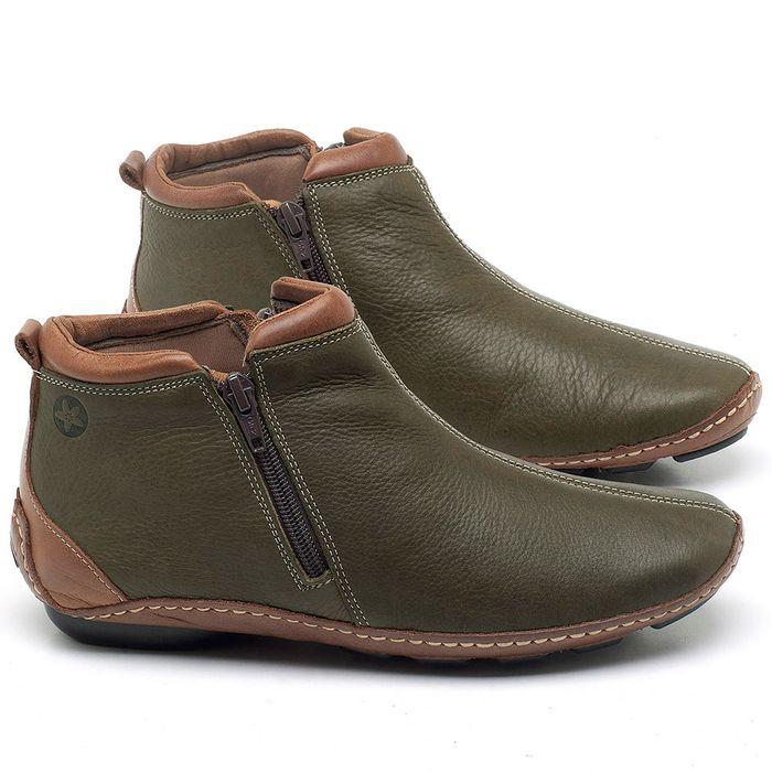 Laranja_Lima_Shoes_Sapatos_Femininos_Flat_Boot_em_Couro_Verde_-_Codigo_-_136094_1