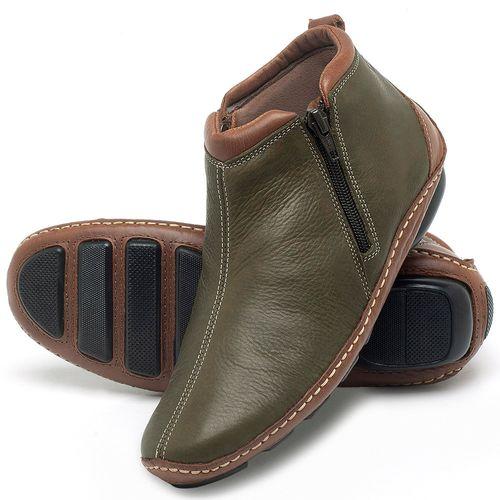 Laranja_Lima_Shoes_Sapatos_Femininos_Flat_Boot_em_Couro_Verde_-_Codigo_-_136094_2