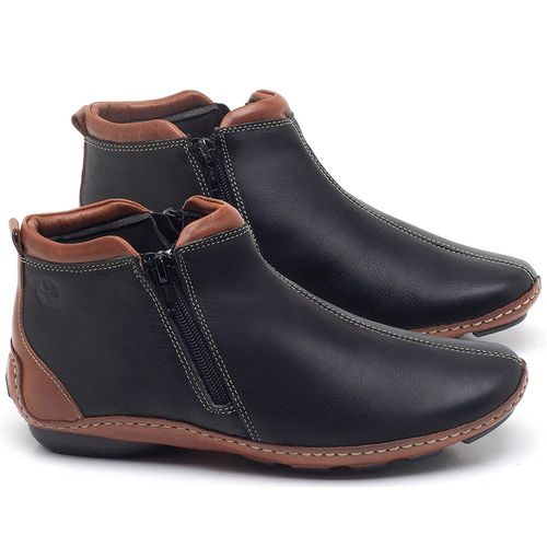 Laranja_Lima_Shoes_Sapatos_Femininos_Flat_Boot_em_Couro_Preto_-_Codigo_-_136094_1