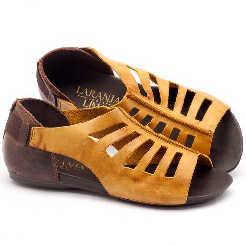 Laranja_Lima_Shoes_Sapatos_Femininos_Sandalia_Rasteira_Flat_em_Couro_Amarelo_-_Codigo_-_137007_1
