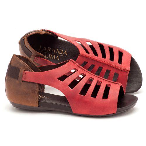 Laranja_Lima_Shoes_Sapatos_Femininos_Sandalia_Rasteira_Flat_em_Couro_Vermelho_-_Codigo_-_137007_1