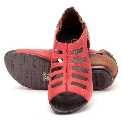 Laranja_Lima_Shoes_Sapatos_Femininos_Sandalia_Rasteira_Flat_em_Couro_Vermelho_-_Codigo_-_137007_2