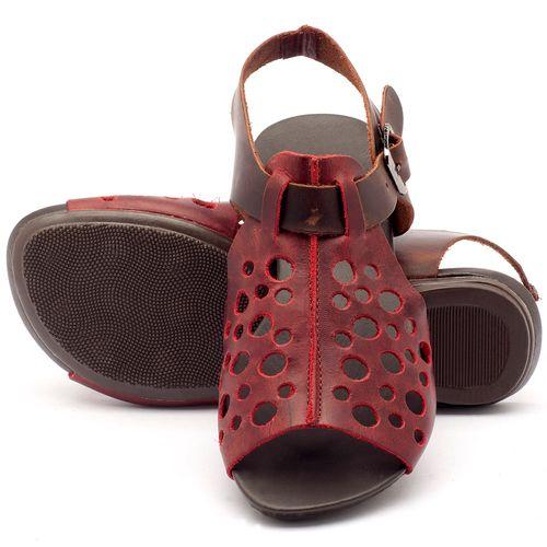Laranja_Lima_Shoes_Sapatos_Femininos_Sandalia_Rasteira_Flat_em_Couro_Vinho_-_Codigo_-_137023_2