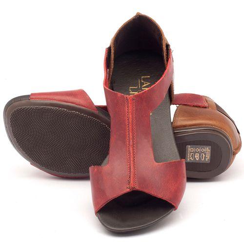 Laranja_Lima_Shoes_Sapatos_Femininos_Sandalia_Rasteira_Flat_em_Couro_vermelho_-_Codigo_-_137026_2