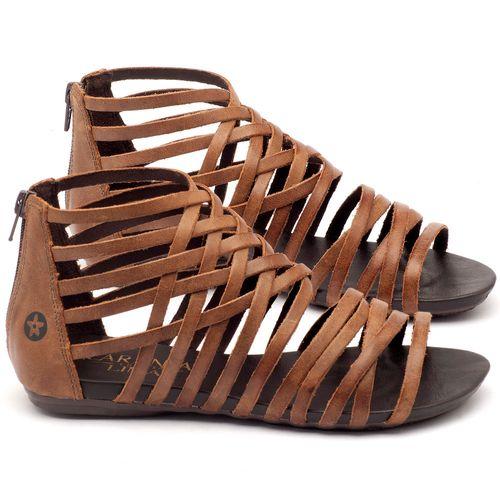 Laranja_Lima_Shoes_Sapatos_Femininos_Sandalia_Rasteira_Flat_em_Couro_Marrom_-_Codigo_-_137027_1