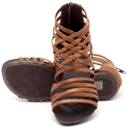 Laranja_Lima_Shoes_Sapatos_Femininos_Sandalia_Rasteira_Flat_em_Couro_Marrom_-_Codigo_-_137027_2