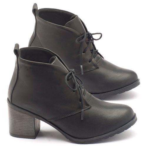 Laranja_Lima_Shoes_Sapatos_Femininos_Bota_Cano_Curto_Salto_de_6_cm_em_Couro_Preto_-_Codigo_-_137029_1