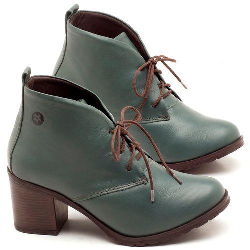 Laranja_Lima_Shoes_Sapatos_Femininos_Bota_Cano_Curto_Salto_de_6_cm_em_Couro_Verde_-_Codigo_-_137029_1