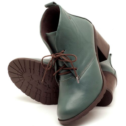 Laranja_Lima_Shoes_Sapatos_Femininos_Bota_Cano_Curto_Salto_de_6_cm_em_Couro_Verde_-_Codigo_-_137029_2