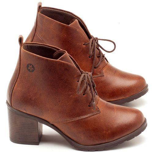 Laranja_Lima_Shoes_Sapatos_Femininos_Bota_Cano_Curto_Salto_de_6_cm_em_Couro_Marrom_-_Codigo_-_137029_1