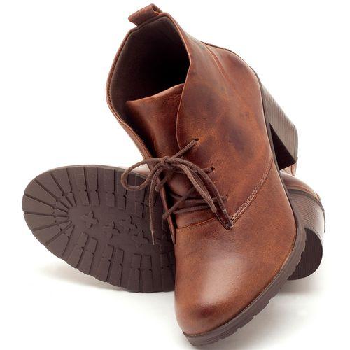 Laranja_Lima_Shoes_Sapatos_Femininos_Bota_Cano_Curto_Salto_de_6_cm_em_Couro_Marrom_-_Codigo_-_137029_2