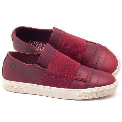 Laranja_Lima_Shoes_Sapatos_Femininos_Tenis_Cano_Baixo_em_Couro_Vinho_-_Codigo_-_137034_1