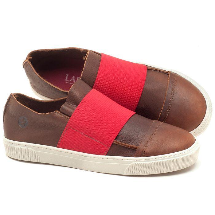 Laranja_Lima_Shoes_Sapatos_Femininos_Tenis_Cano_Baixo_em_Couro_Marrom_-_Codigo_-_137034_1