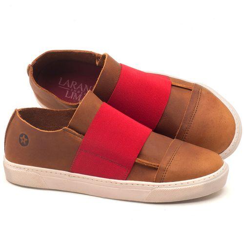 Laranja_Lima_Shoes_Sapatos_Femininos_Tenis_Cano_Baixo_em_Couro_Caramelo_-_Codigo_-_137034_1