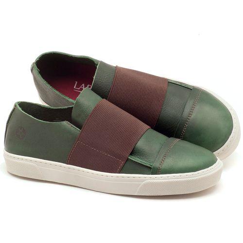 Laranja_Lima_Shoes_Sapatos_Femininos_Tenis_Cano_Baixo_em_Couro_Verde_-_Codigo_-_137034_1