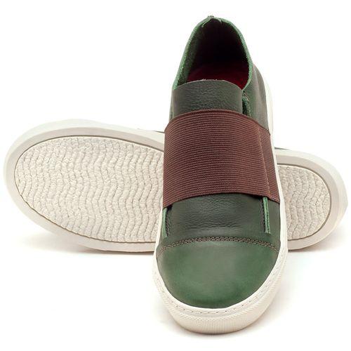 Laranja_Lima_Shoes_Sapatos_Femininos_Tenis_Cano_Baixo_em_Couro_Verde_-_Codigo_-_137034_2