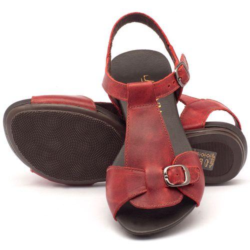 Laranja_Lima_Shoes_Sapatos_Femininos_Sandalia_Rasteira_Flat_em_Couro_Vermelho_-_Codigo_-_137047_2