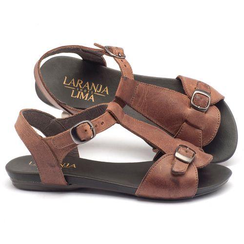 Laranja_Lima_Shoes_Sapatos_Femininos_Sandalia_Rasteira_Flat_em_Couro_Marrom_-_Codigo_-_137047_1