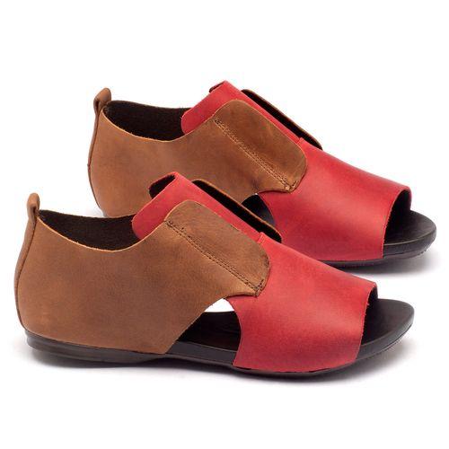 Laranja_Lima_Shoes_Sapatos_Femininos_Sandalia_Rasteira_Flat_em_Couro_Vermelho_-_Codigo_-_137048_1