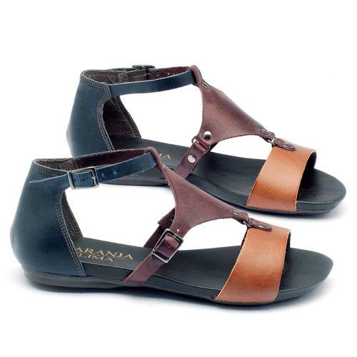 Laranja_Lima_Shoes_Sapatos_Femininos_Sandalia_Rasteira_Flat_em_Couro_Multicolor_-_Codigo_-_137053_1