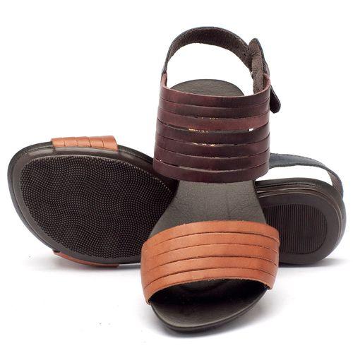 Laranja_Lima_Shoes_Sapatos_Femininos_Sandalia_Rasteira_Flat_em_Couro_Multicolor_-_Codigo_-_137054_2